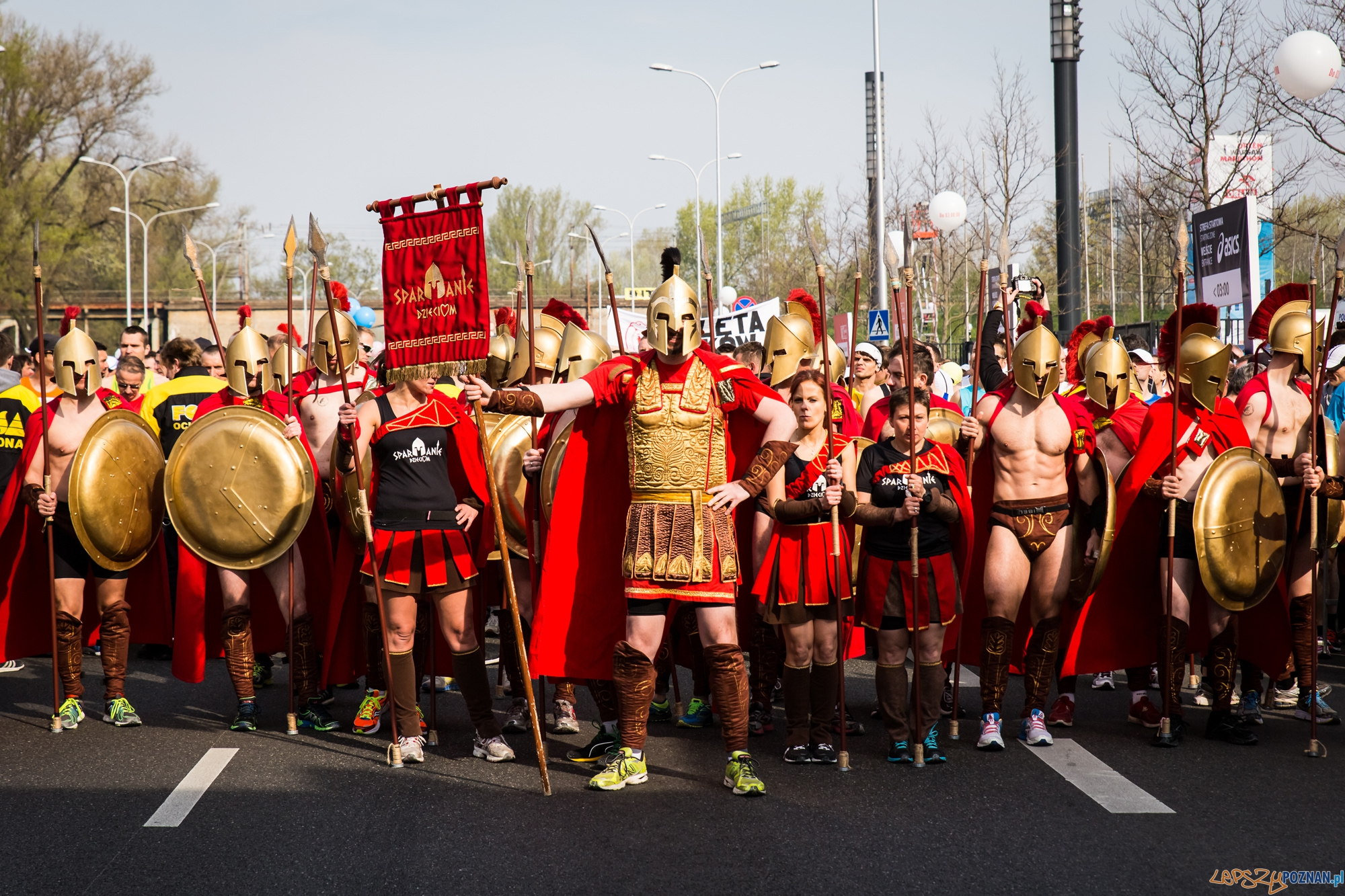 Spartanie dzieciom  Foto: Mariusz Kubiak