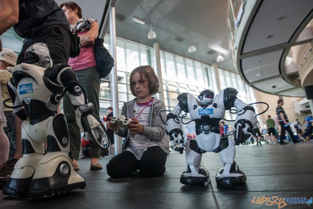 Sterowanie robotami nie jest trudne  Foto: