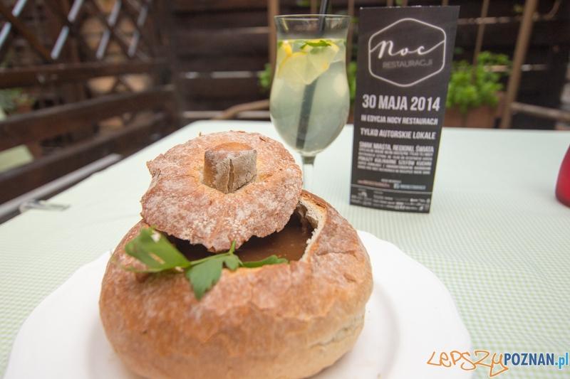 Restauracja Pastela - zupa piwna, lemoniada z czarnego bzu  Foto: lepszyPOZNAN.pl / Piotr Rychter