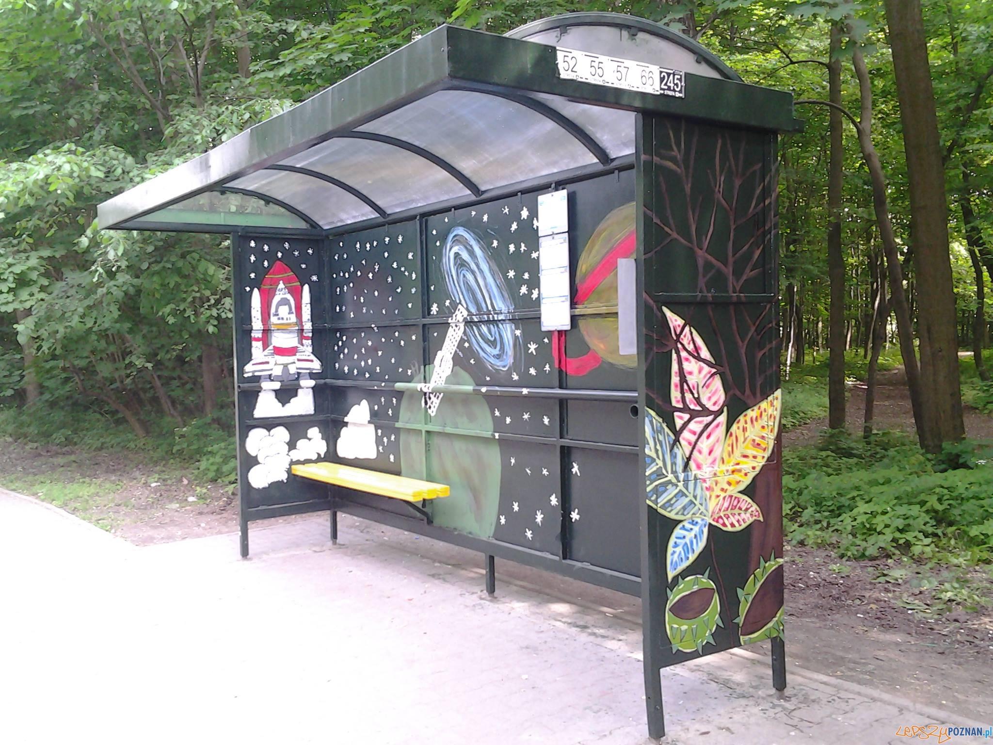 Przystanek jak malowany  Foto: facebook / Przystanek.Folwarczna