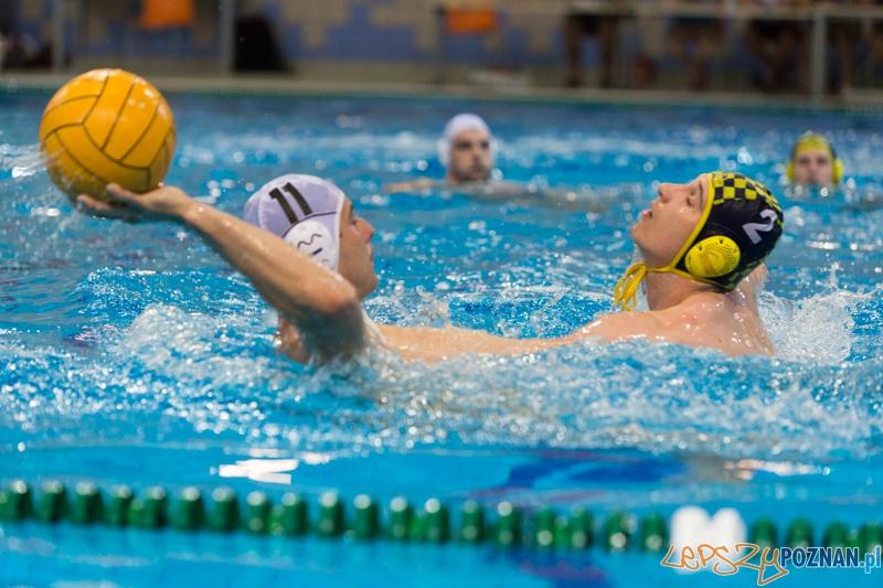 DSW Waterpolo Poznań - ŁSTW Uniwersytet Łódzki (Oskar Szymonik, Ivan kulakov)  Foto: lepszyPOZNAN.pl / Piotr Rychter
