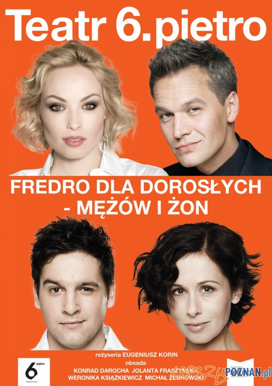 Fredro Dla Dorosłych – Mężów i Żon  Foto: Teatr 6. piętro