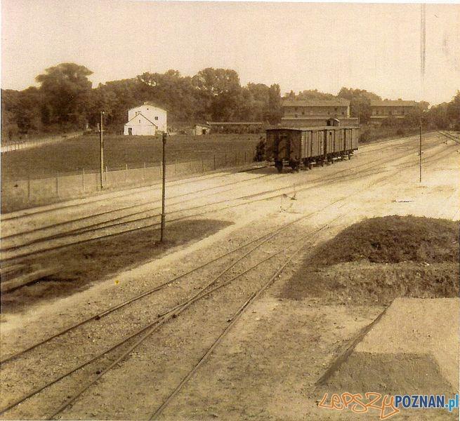 Stacja Kobylepole - Sredzka Kolej Powiatowa  Foto: poznan.wikia.com