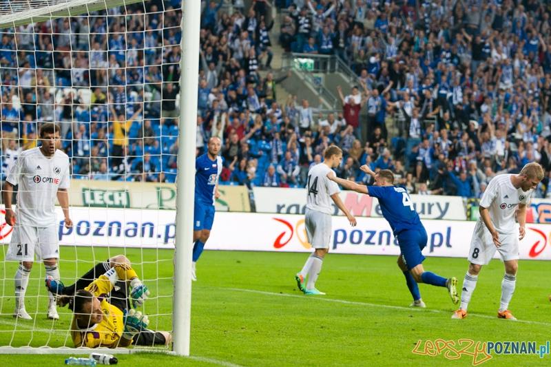 Lech Poznań - Nõmme Kalju  Foto: lepszyPOZNAN.pl / Piotr Rychter
