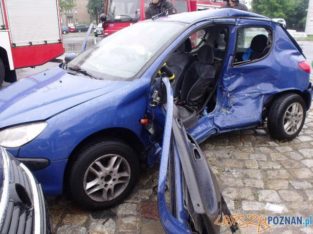 Wypadek na Św. Michała  Foto: JRG 3