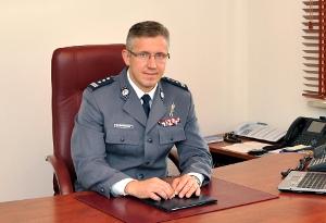 Komendant Rafal Batkowski  Foto: Policja
