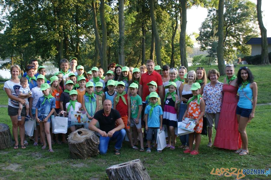 Dzieci z Ukrainy na wakacjach w Tarnowie Podgórnym  Foto: UMiG Tarnowo Podgórne