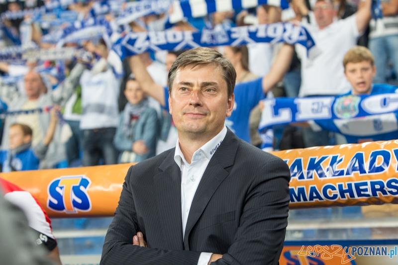 Trener Lecha Poznań - Maciej Skorża  Foto: lepszyPOZNAN.pl / Piotr Rychter