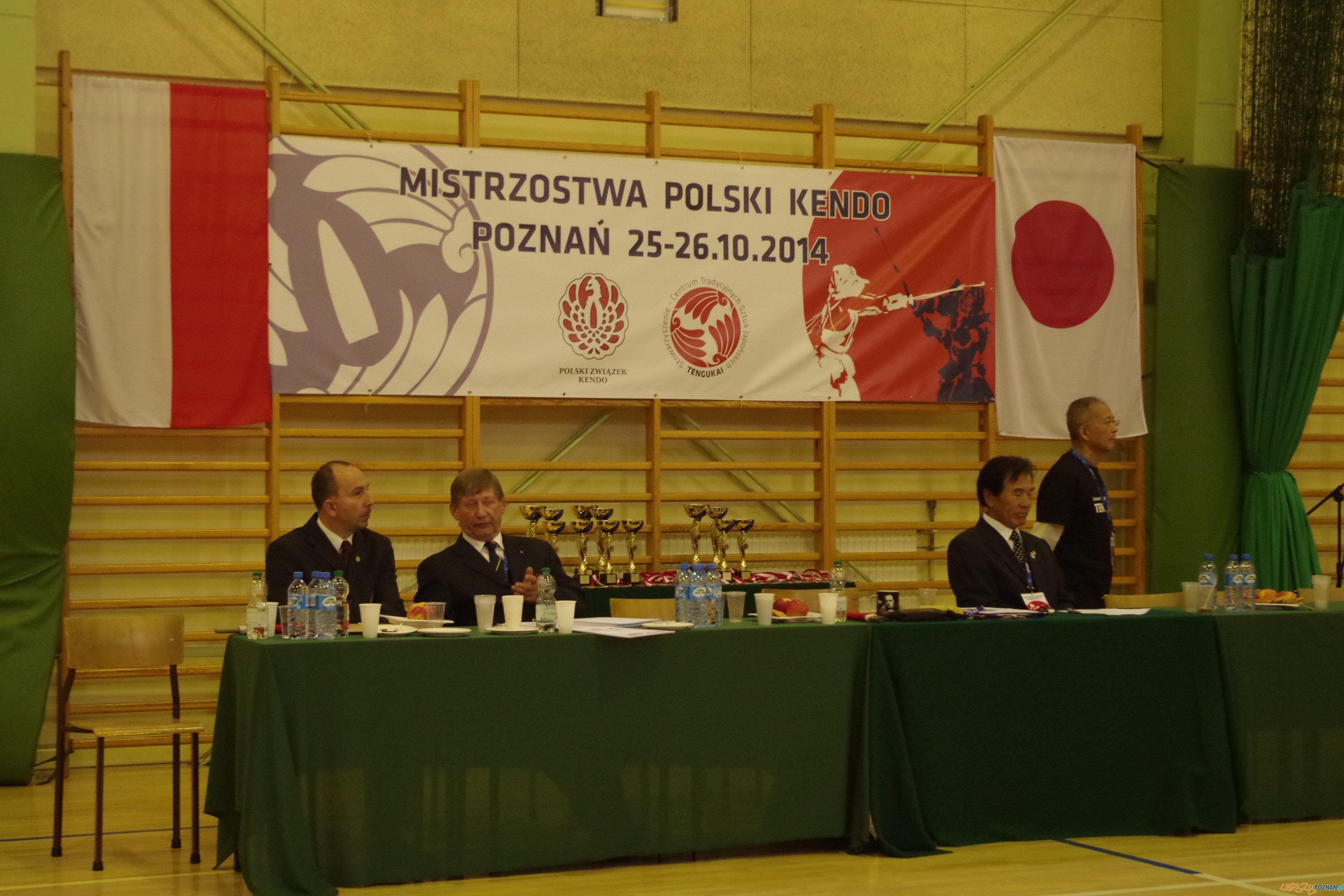 Mistrzowie kendo w Poznaniu  Foto: Krzysztof Ludwiczak
