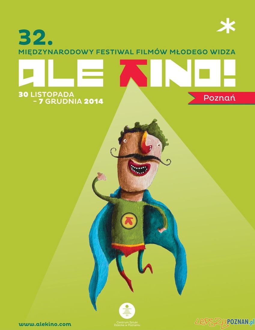 Ale Kino - plakat festiwalu  Foto: