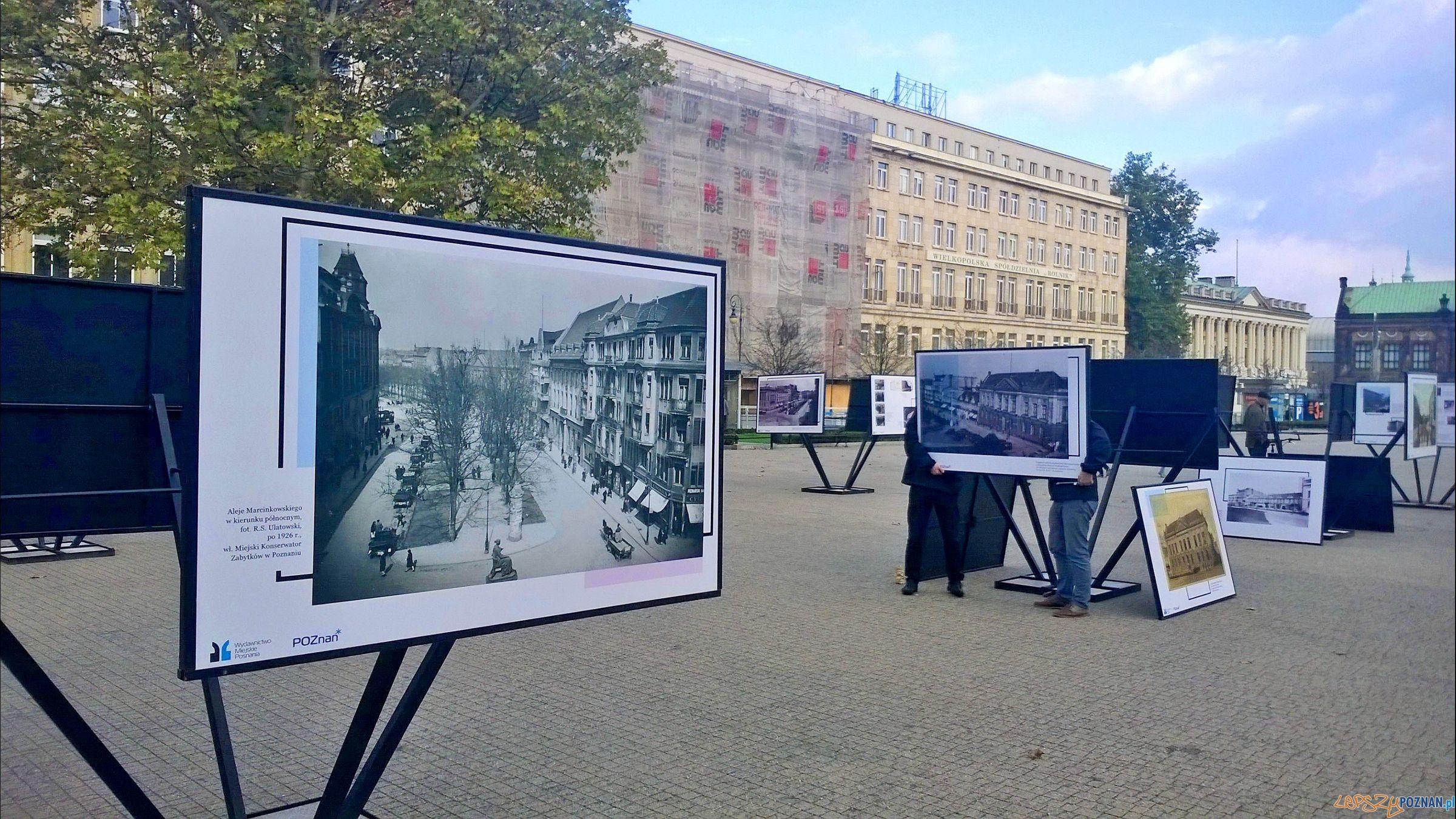 Poznańskie archiwa na Placu Wolności (4)  Foto: TD