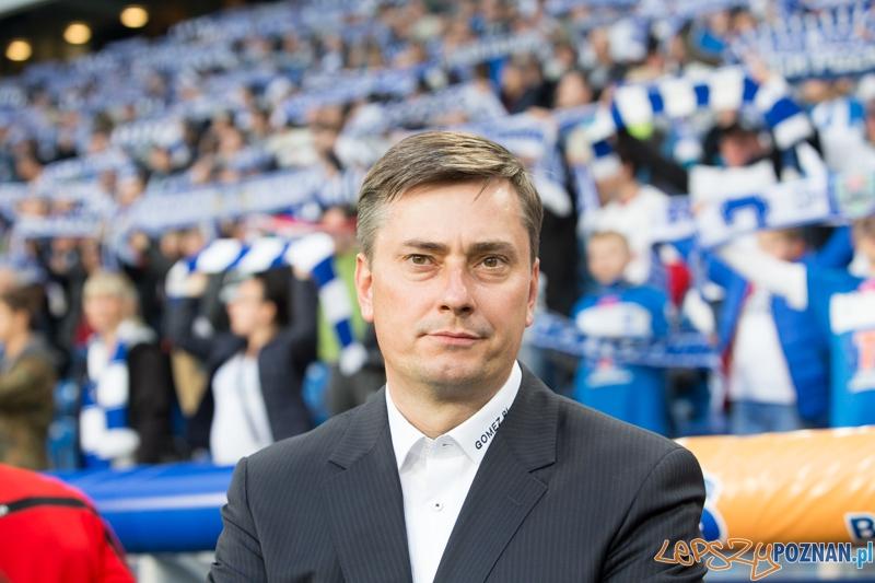 11. kolejka T-Mobile Ekstraklasy Lech Poznań - GKS Bełchatów - trener Maciej Skorża  Foto: lepszyPOZNAN.pl / Piotr Rychter