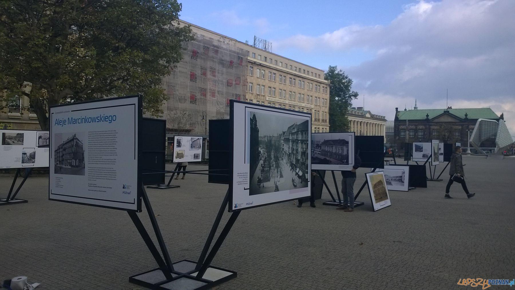 Poznańskie archiwa na Placu Wolności (3)  Foto: TD