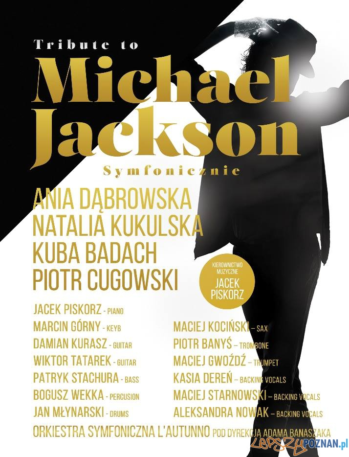 Tribute do Michael Jackson - skład  Foto: mat. prasowe