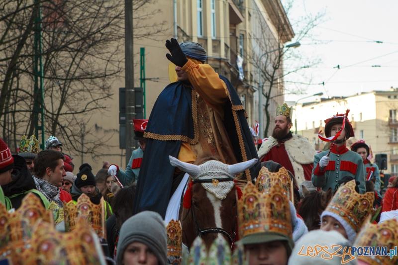 Orszak Trzech Króli - Poznań 06.01.2015 r.  Foto: LepszyPOZNAN.pl / Paweł Rychter