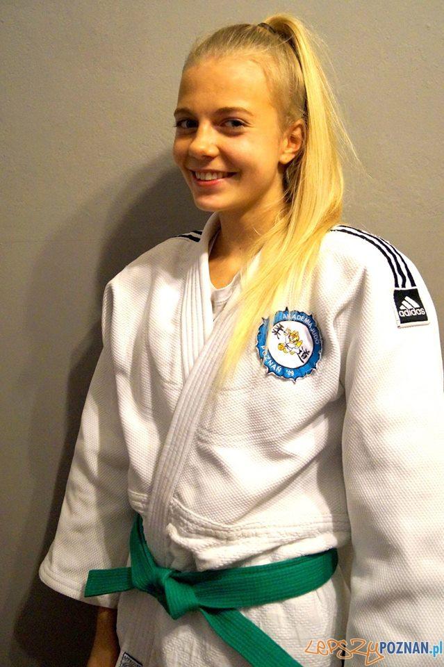Eliza Wróblewska Akademia Judo  Foto:
