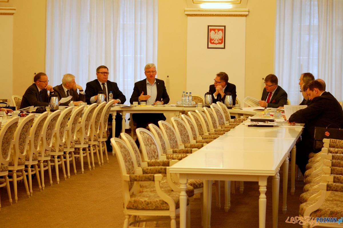 Spotkanie prezydenta w ramach Zarządu Metropolii Poznań  Foto: UM Poznań