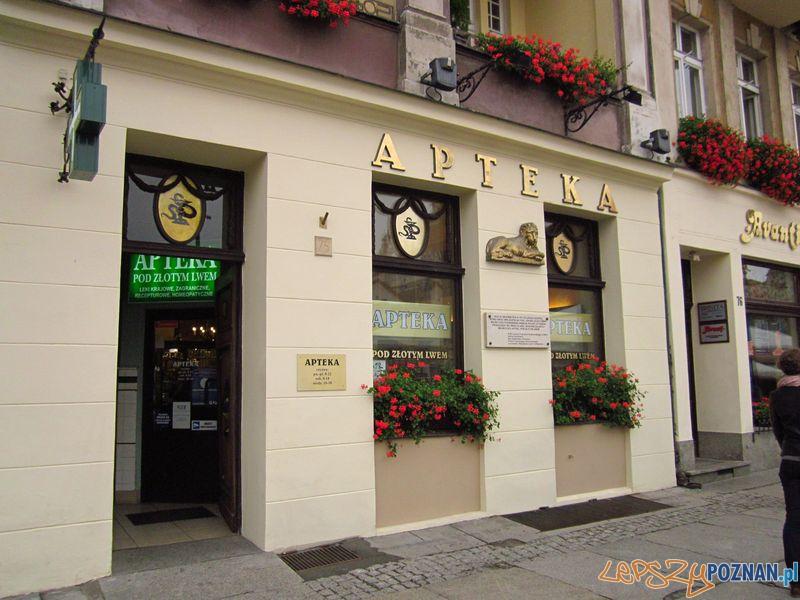 Apteka_Pod_Złotym_Lwem_Poznań  Foto: wikipedia