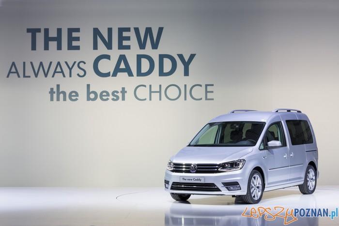 Volkswagen Caddy  Foto: mat. prasowe