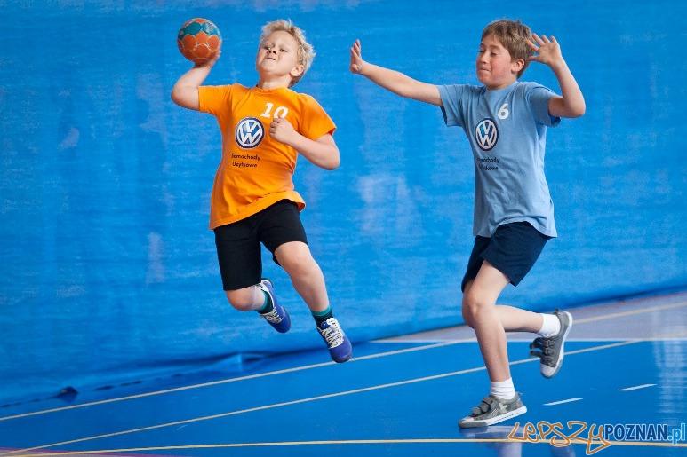 Finał Pucharu Volkswagen Poznań Mini Handball  Foto: mat. prasowe