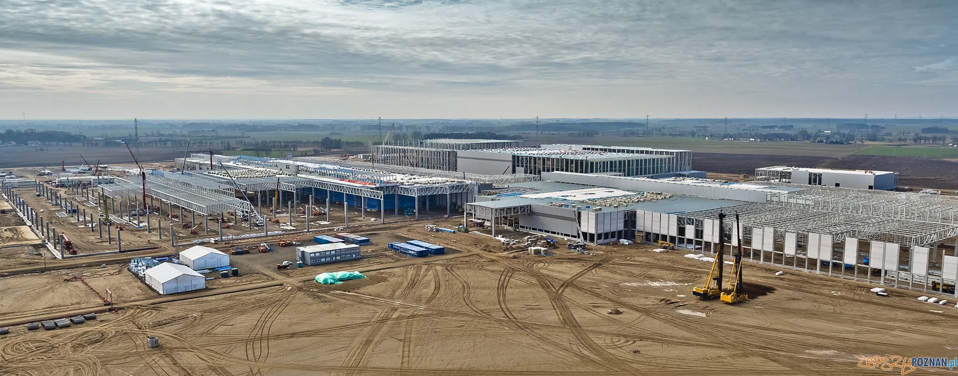 Budiowa fabryki Volkswagena pod Wrześnią (4)  Foto: