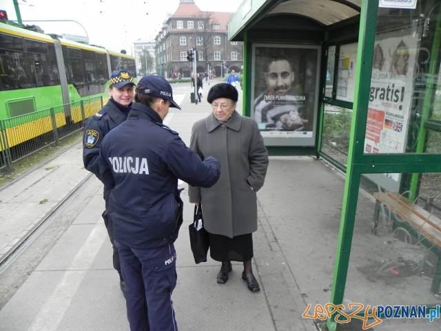 Policyjna profilaktyka  Foto: KMP