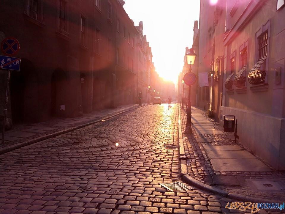 Słońce o poranku  Foto: lepszyPOZNAN.pl