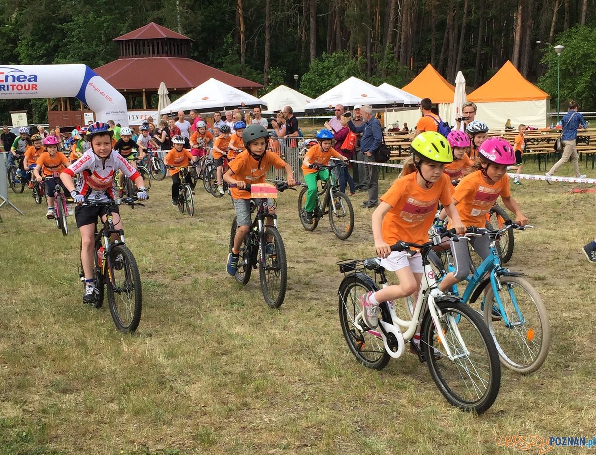 Dziecięcy duathlon w Sierakowie  Foto: endu sport