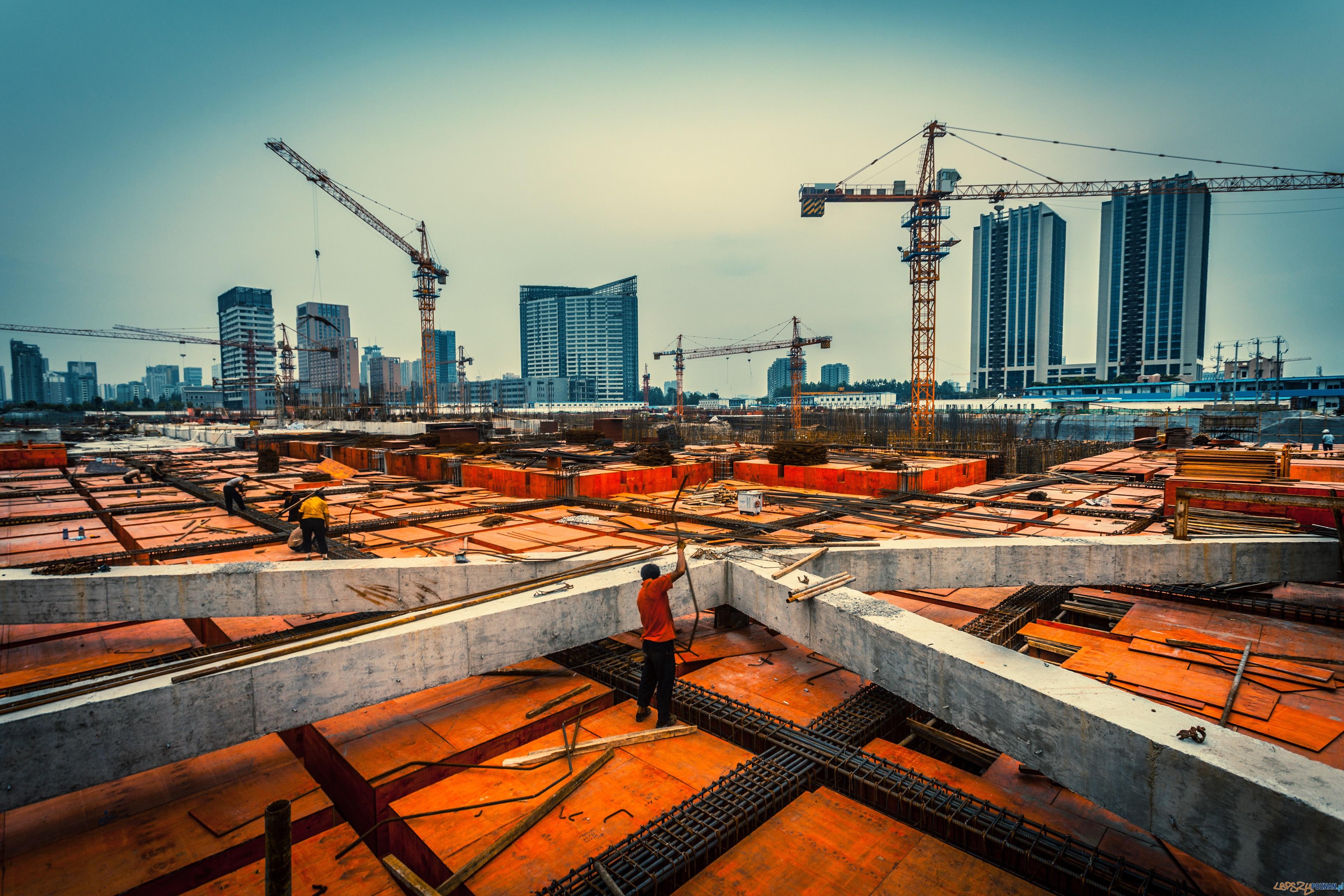Sytuacja na rynku budowlanym  Foto: Zhu Difeng