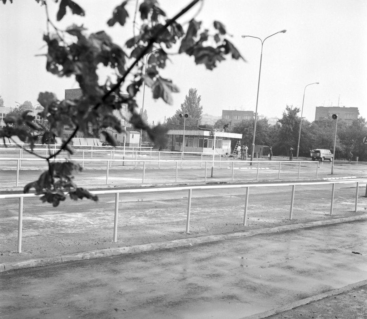 Dworzec na Ratajach 19.07.1979 kilka dni przed oddaniem do użytku  Foto: Stanisław Wiktor / Cyryl
