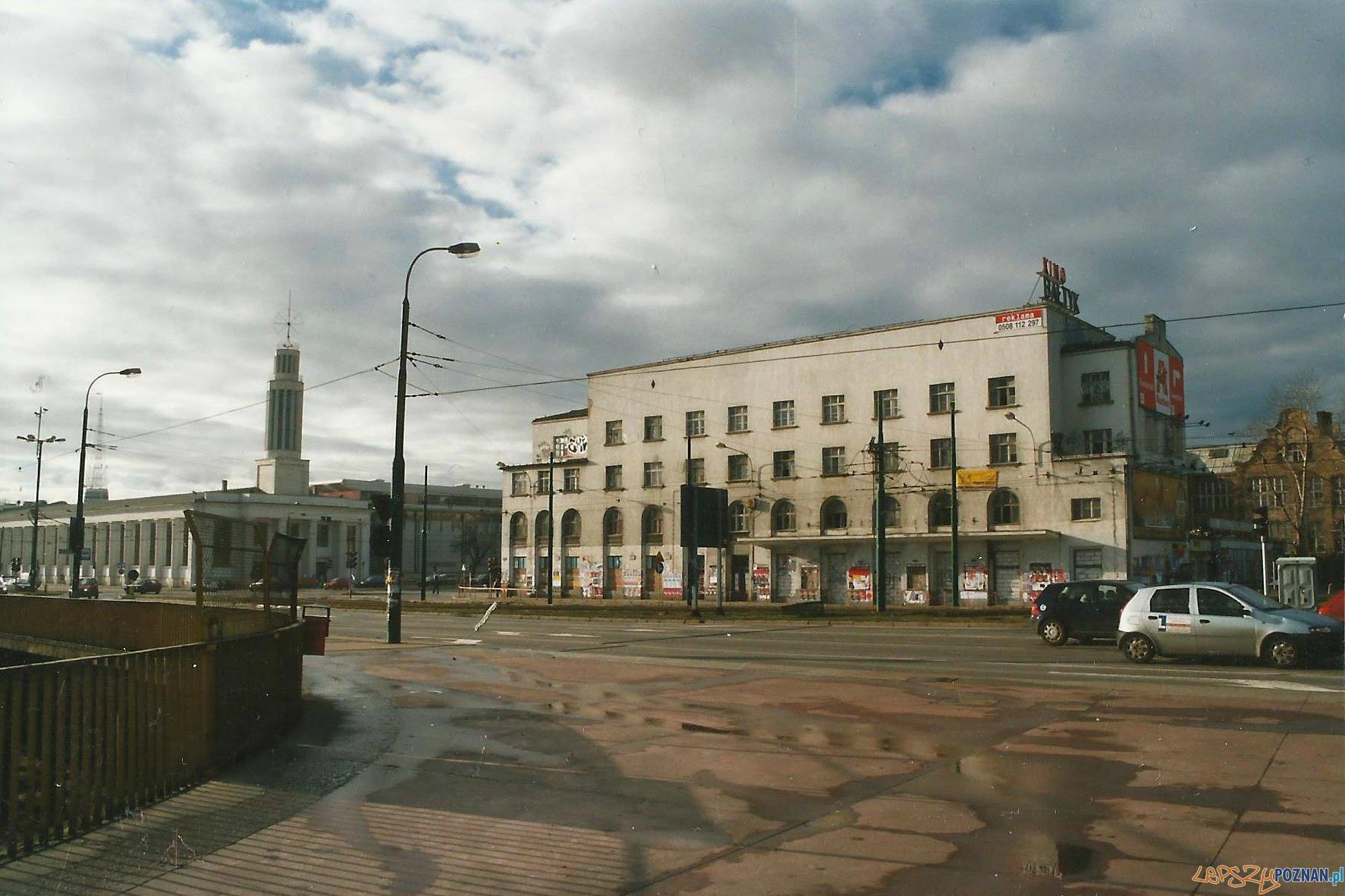Kino Bałtyk krótko przed rozbiórką  Foto: Jan Grochocki