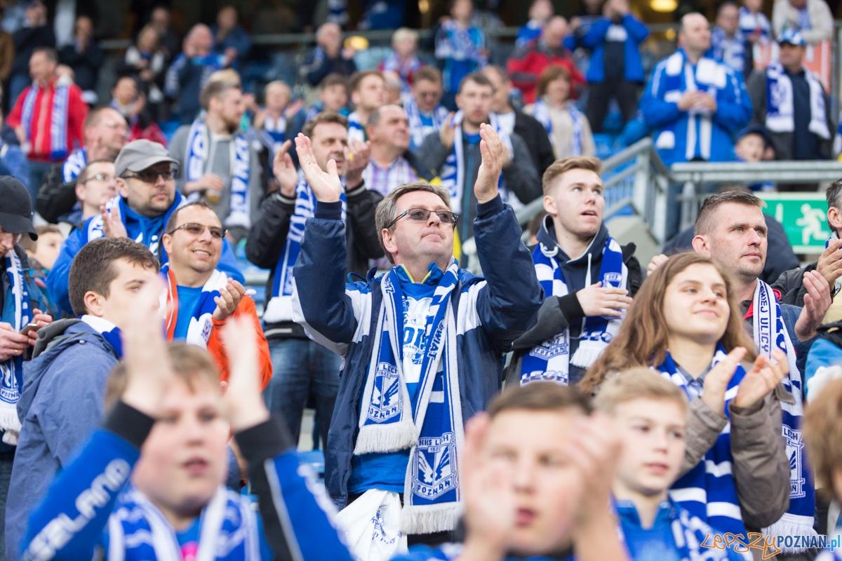 33. kolejka T-Mobile Ekstraklasy - Lech Poznań - Śląsk Wrocław (najlepsi kibice na świecie)  Foto: lepszyPOZNAN.pl / Piotr Rychter
