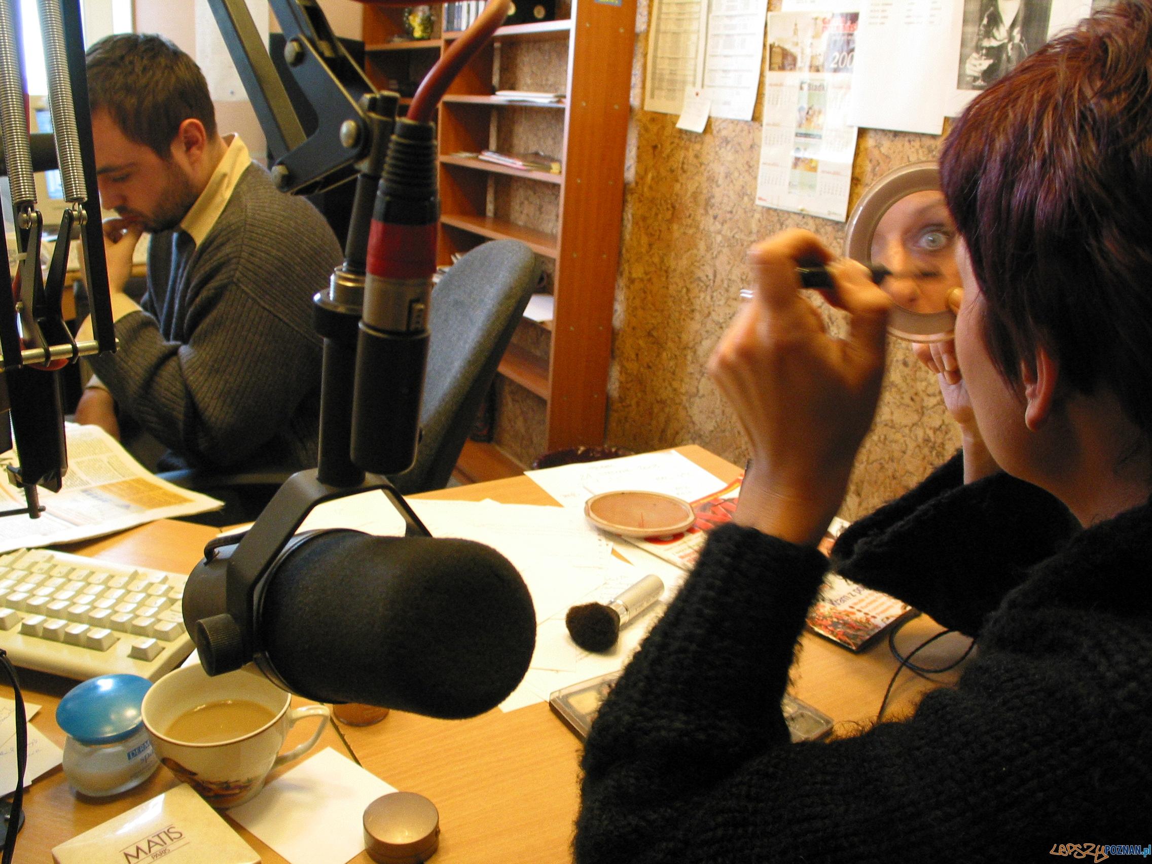 Studio radiowe  Foto: foto-poznan