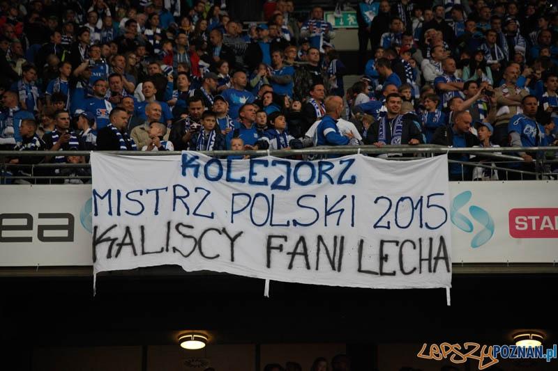 Lech Poznań – Wisła Kraków  Foto: lepszyPOZNAN.pl / Ewelina Gutowska
