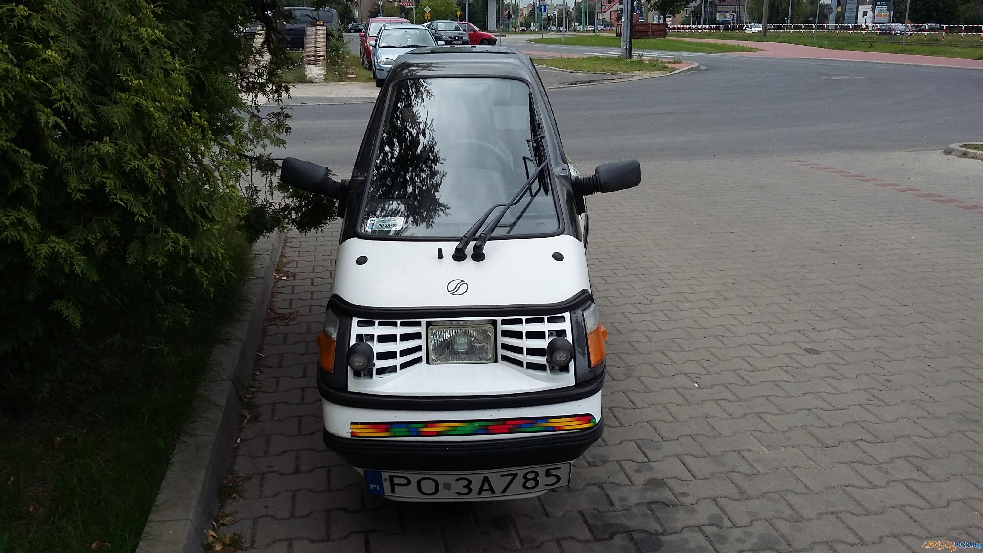 Samochód elektryczny  Foto: lepszyPOZNAN.pl / gsm