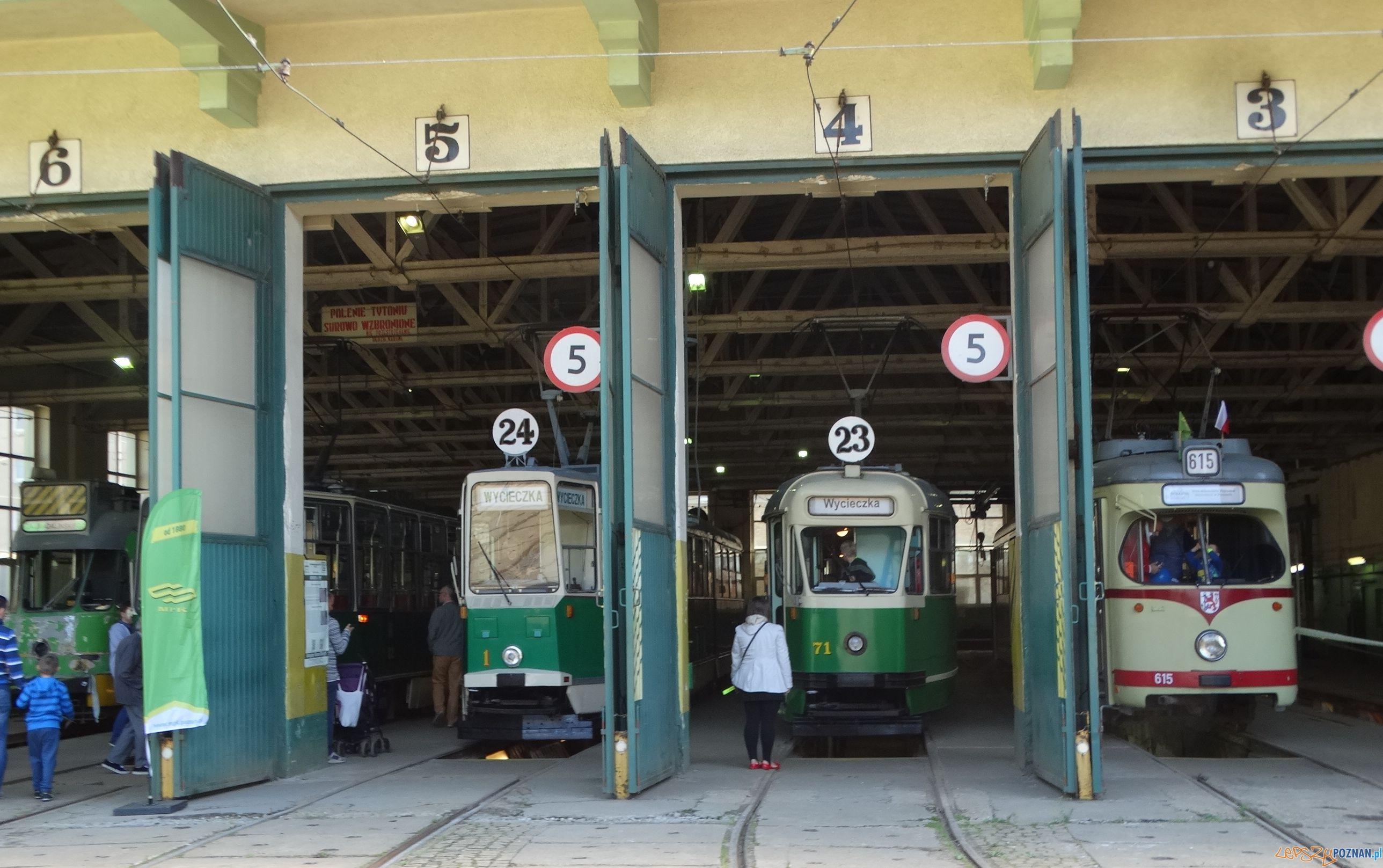 Tramwaje - zajezdnia na Madalinie  Foto: ZTM