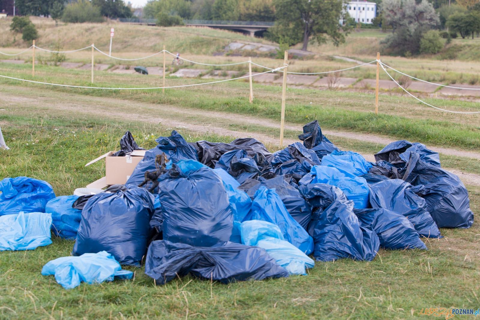 Spływaj śmieciu, tej!  Foto: lepszyPOZNAN.pl / Piotr Rychter