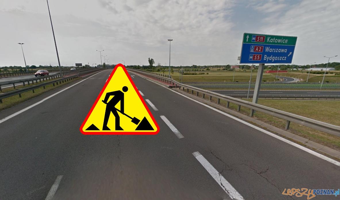 Nowe utrudnienia na drogach  Foto: Google Street View