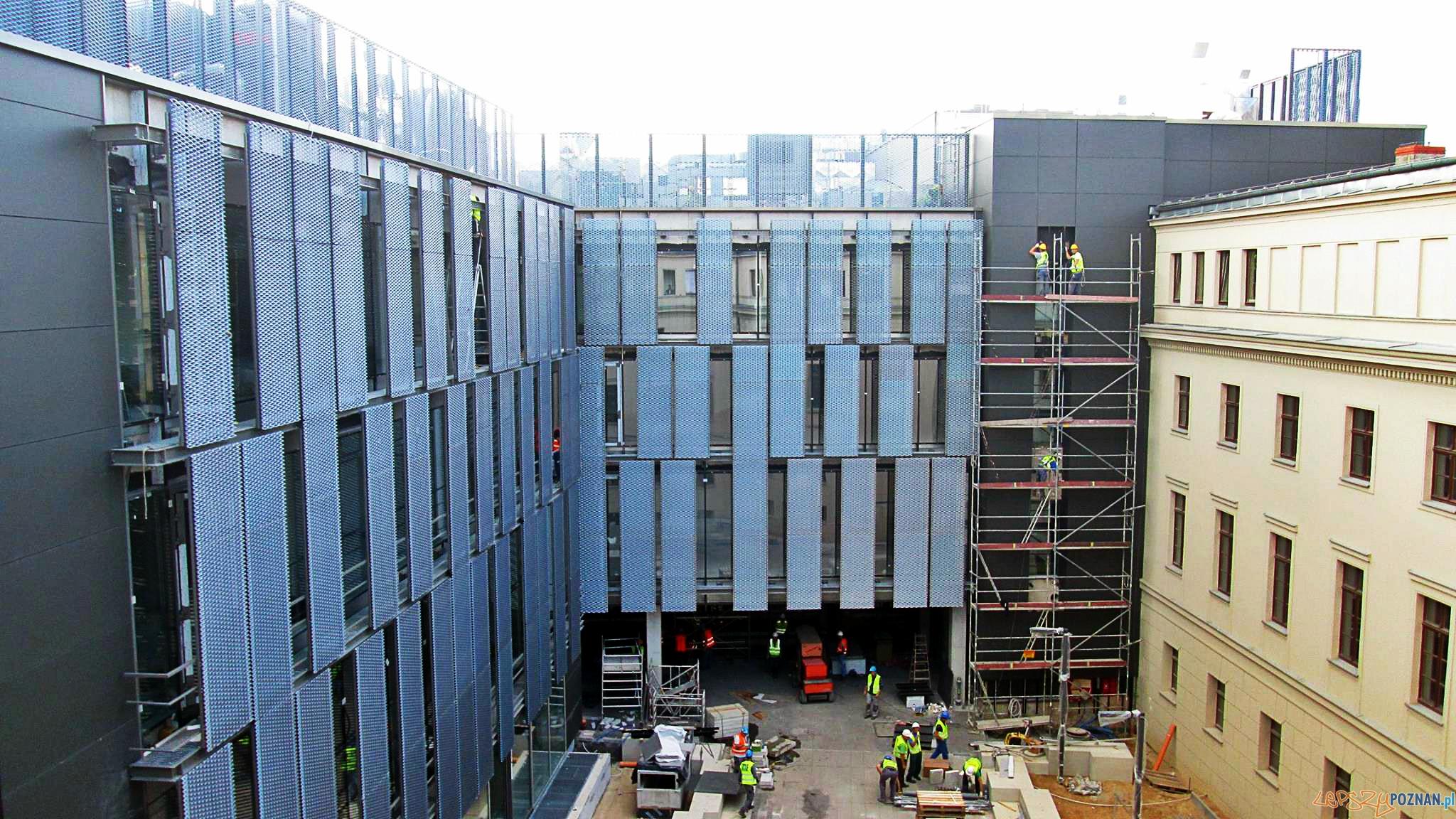 Prace w budynku UAP dobiegają końca  Foto: UAP