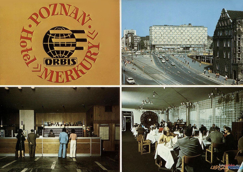 Hotel Merkury - 1974-1976  Foto: Pocztówka KAW / fotopolska