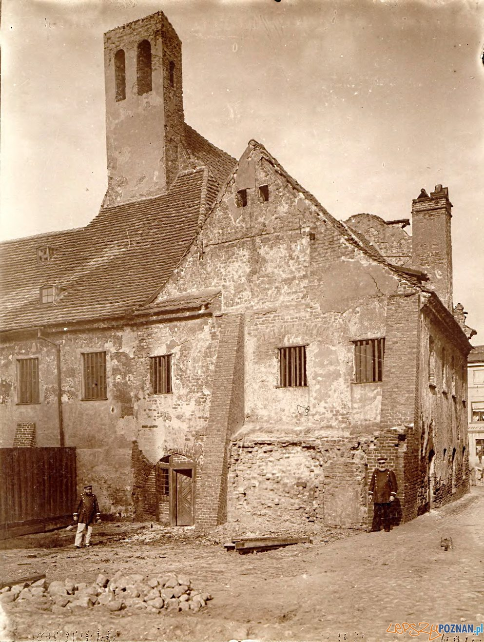 Klasztor Katarzynek Masztalarska 1898 (2)  Foto: