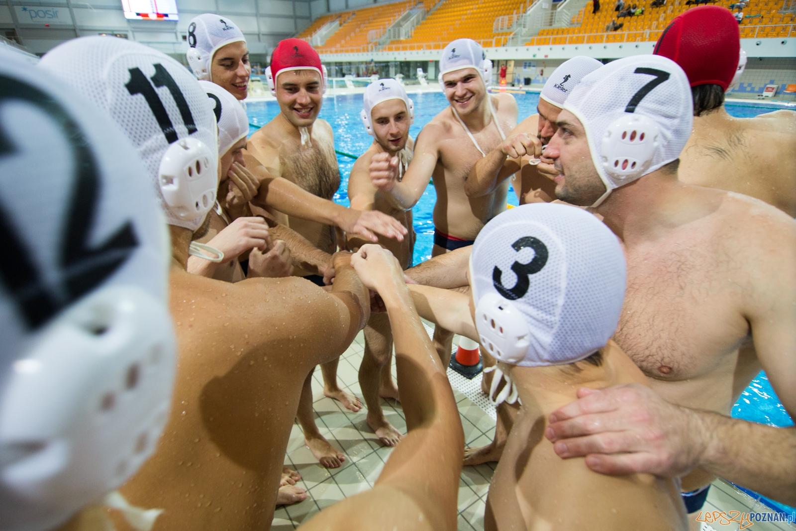 Puchar Polski w piłce wodnej mężczyzn 2015 - Waterpolo Pozna  Foto: lepszyPOZNAN.pl / Piotr Rychter
