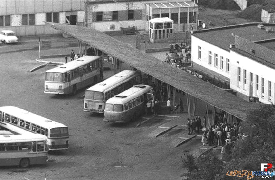 Dworzec PKS lata 70.te  Foto: materiały archiwalne PKS