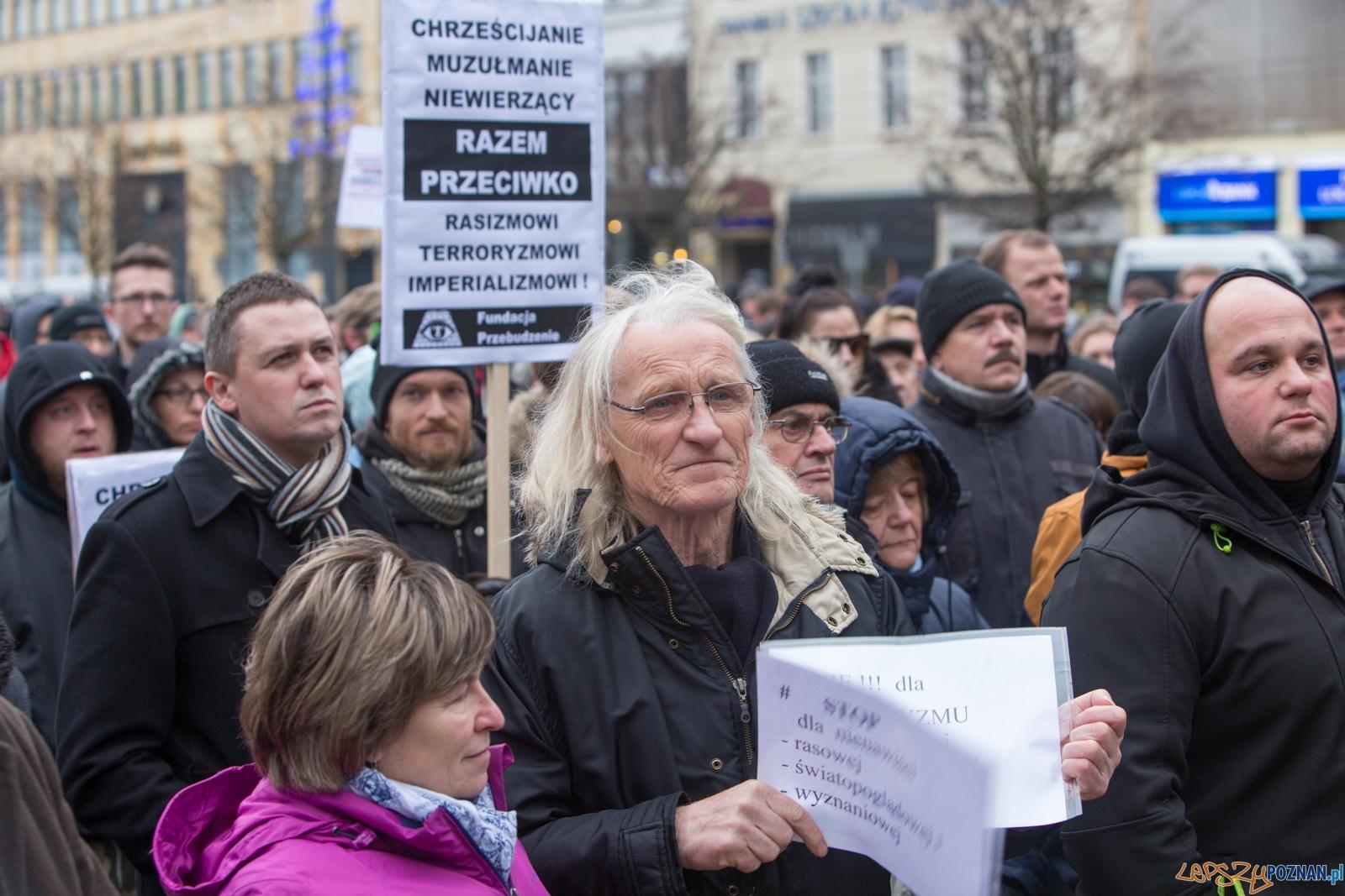 Muzułmanie przeciw terrorystom  Foto: lepszyPOZNAN.pl / Piotr Rychter
