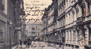 Bismarck Strasse / dziś Kantaka - rok 1914  Foto: fotopolska