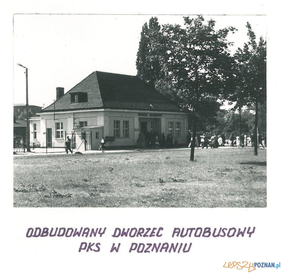 Dworzec PKS  - 1962r.  Foto: Archiwum PKS