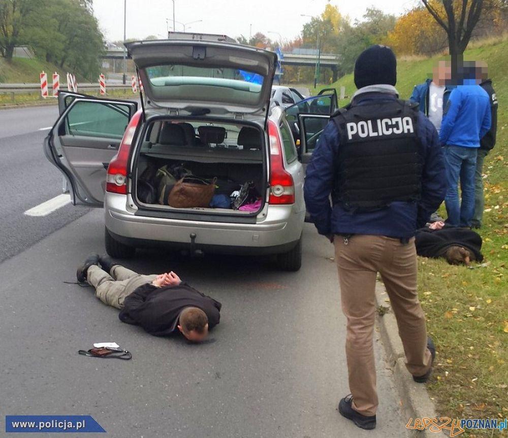 Zatrzymanie oszustów  Foto: materiały policji