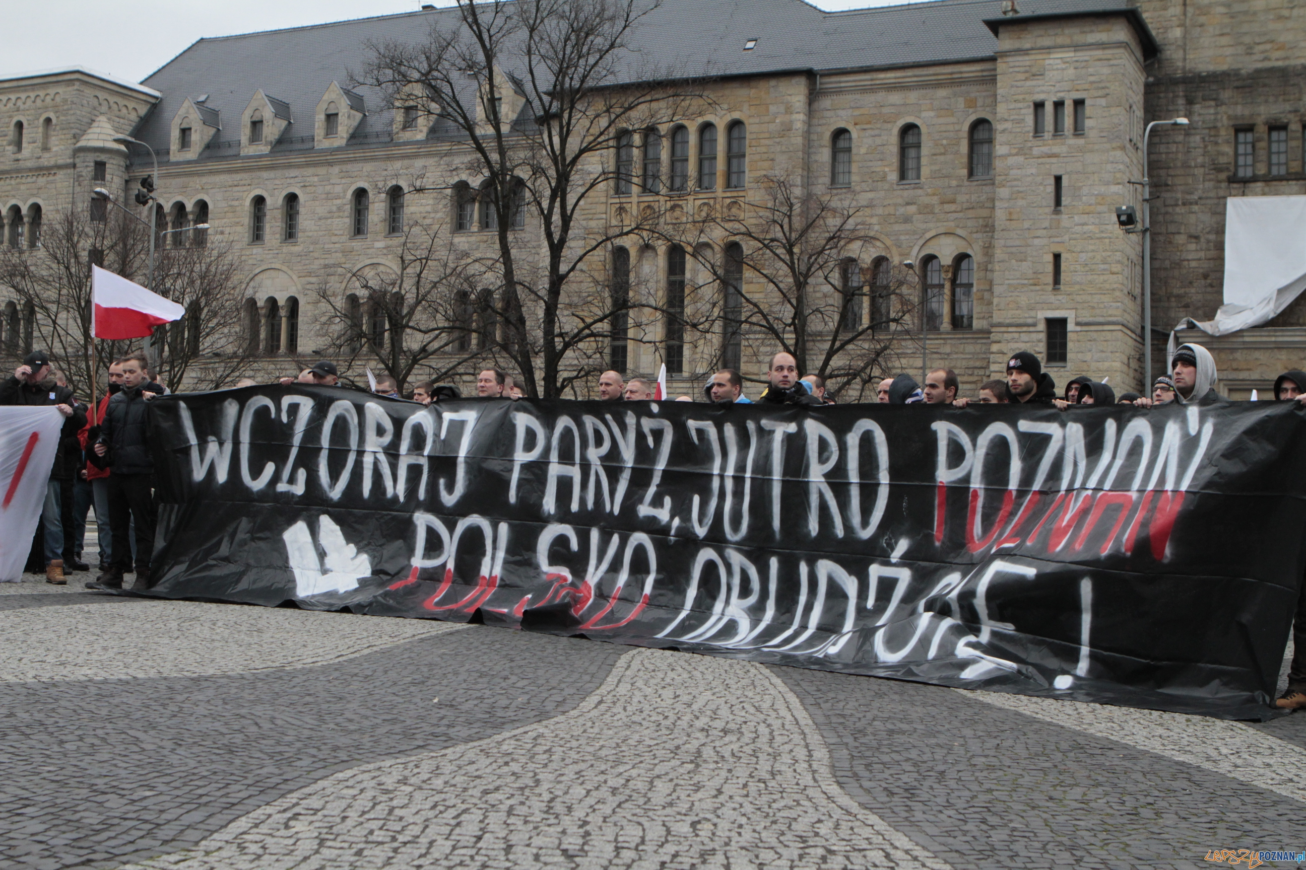 Manifestacja ONR  Foto: lepszyPOZNAN.pl / Paweł Rychter