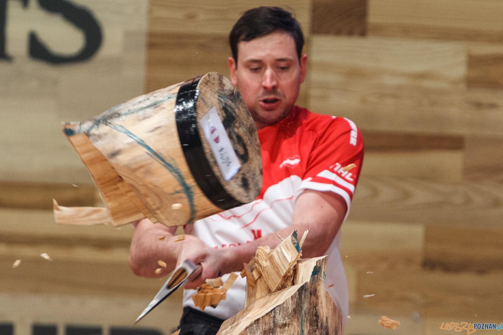 Stihl Timbersports 2015 - Poznań 13.11.2015 r.  Foto: LepszyPOZNAN.pl / Paweł Rychter