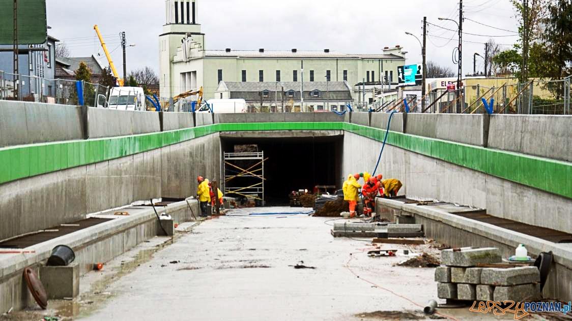 Budowa tunelu na Czechosłowackiej - kolejne zmiany komunikacyjne  Foto: Poznańskie Inwestycje Miejskie